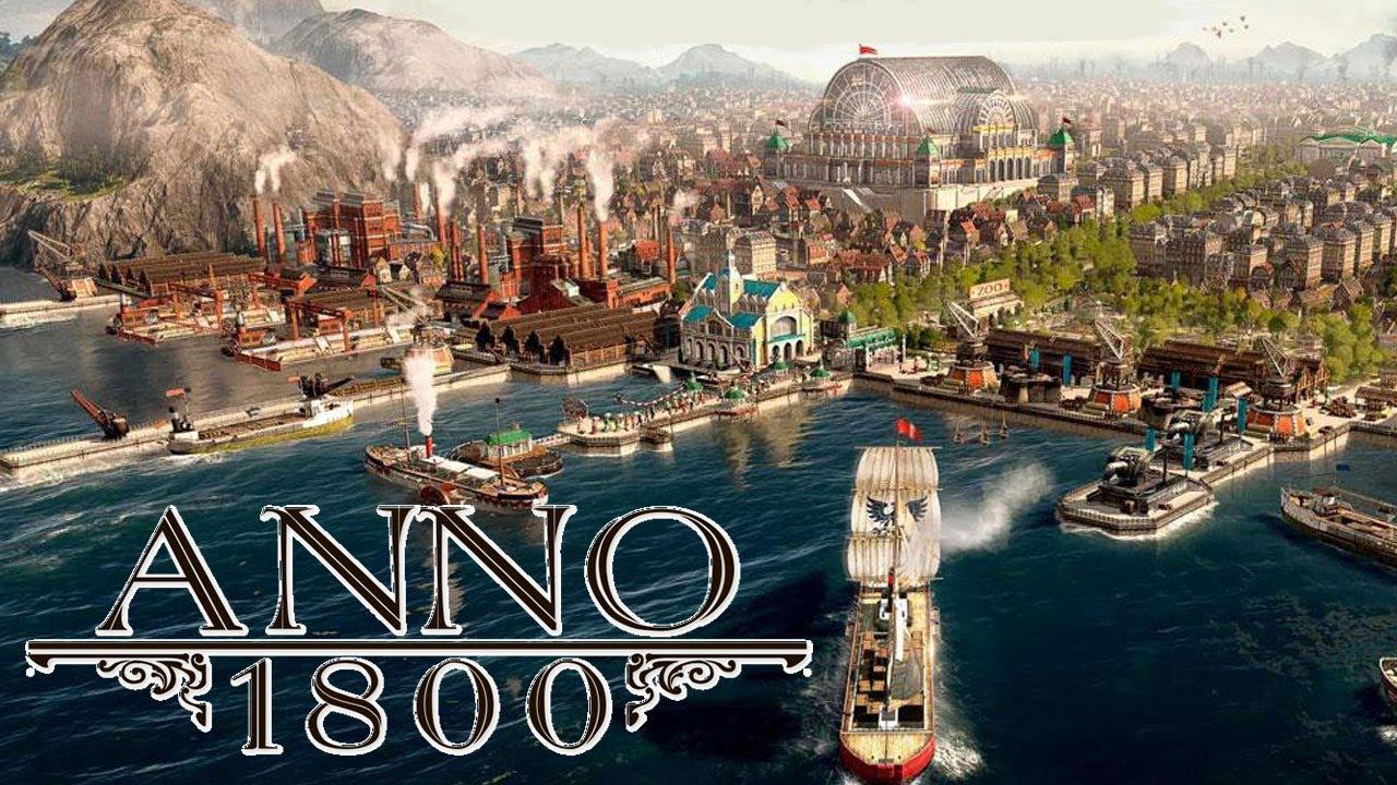 ترینر بازی Anno 1800