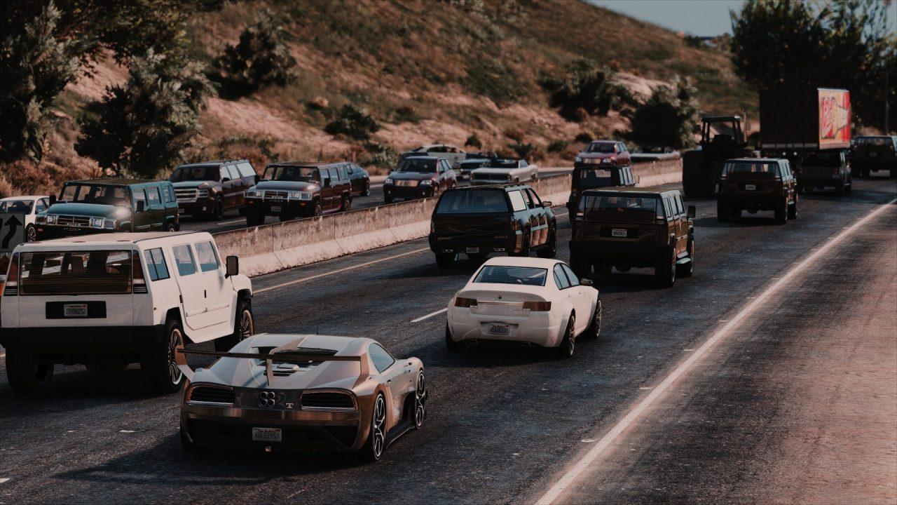 مد ترافیک طبیعی برای GTA V