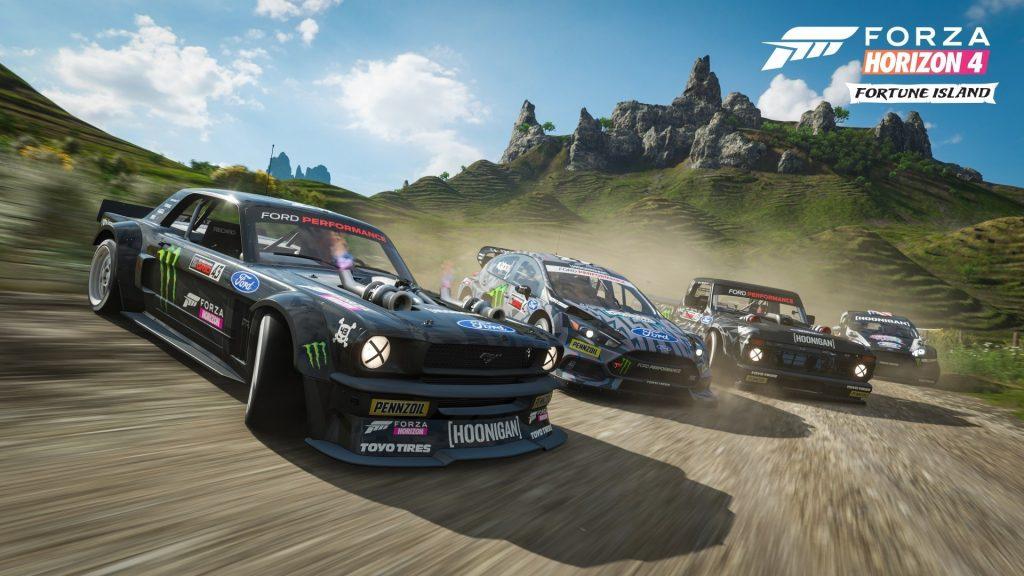 ترینر بازی Forza Horizon 4