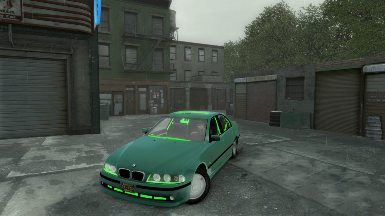 خودرو BMW 5 30D E39 برای Mafia 2