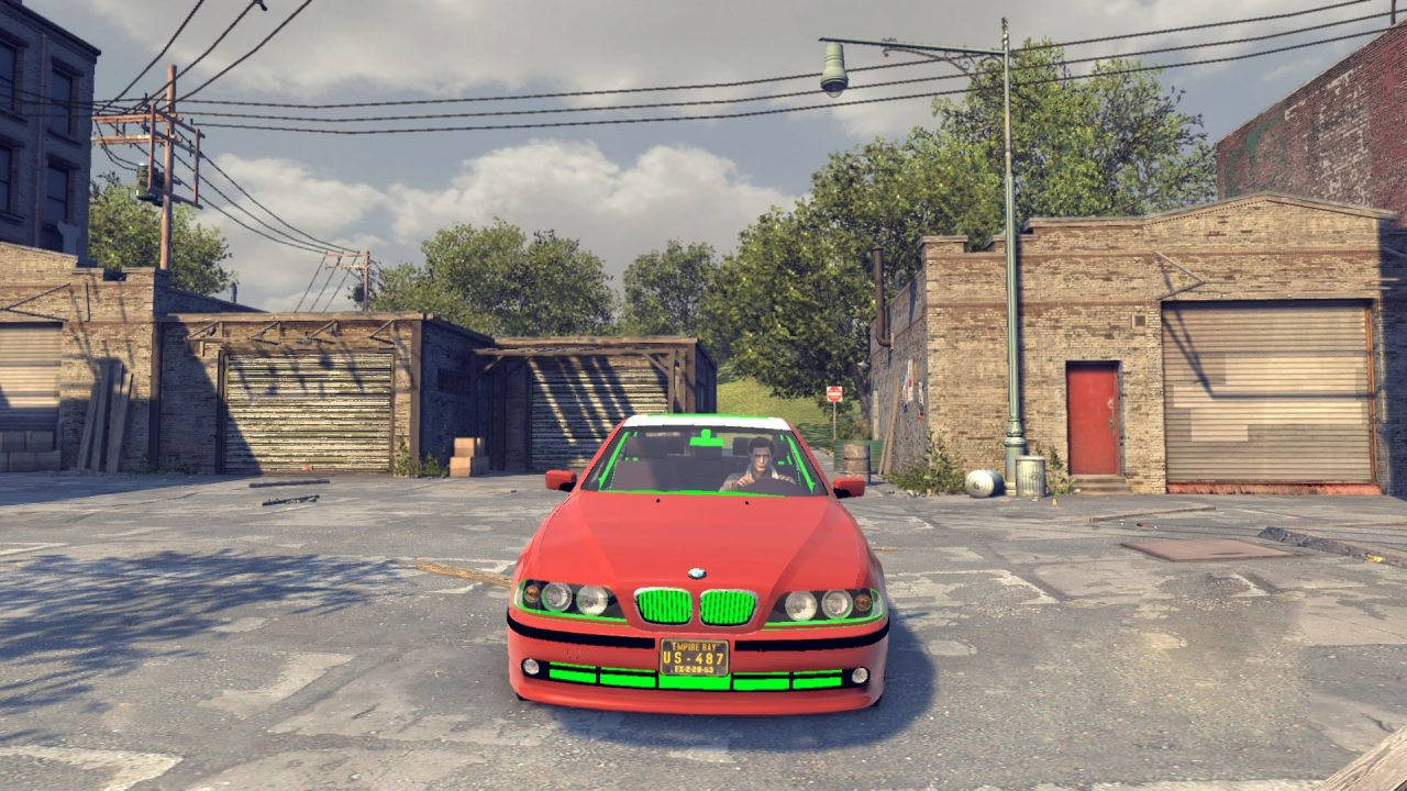 Mod Car BMW 5 30D E39 For Mafia 2