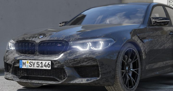 Mod Car BMW M5 F90 Competition 2019 for GTA V