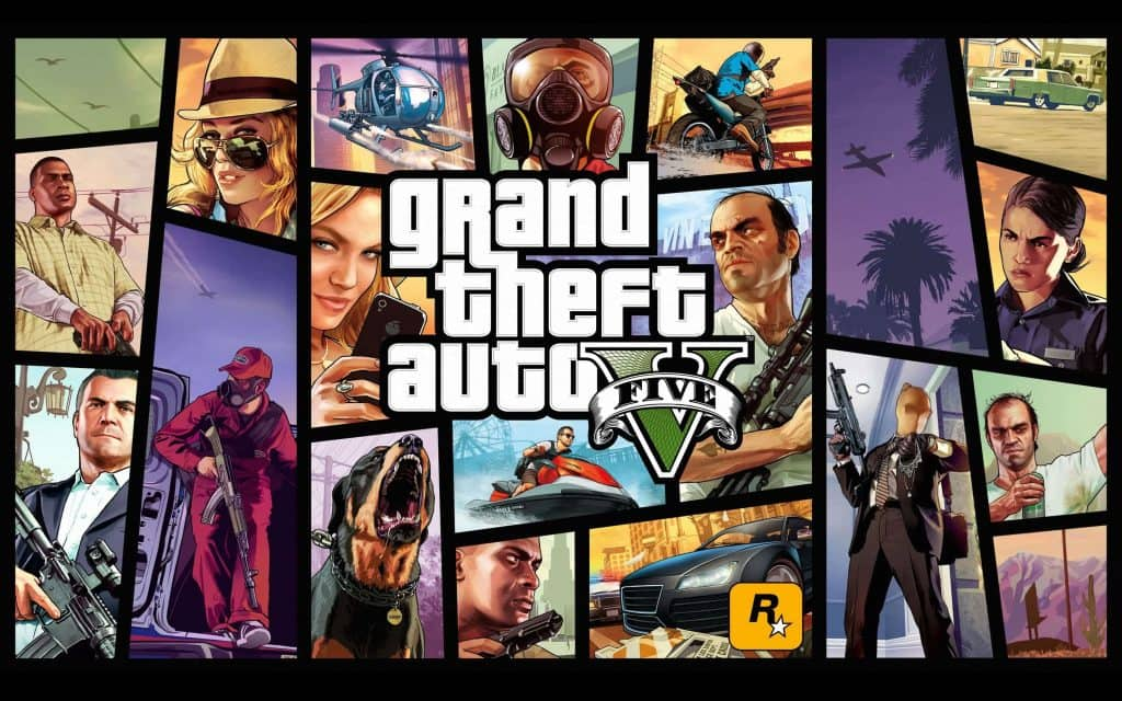 Grand Theft Auto V Steam Backup