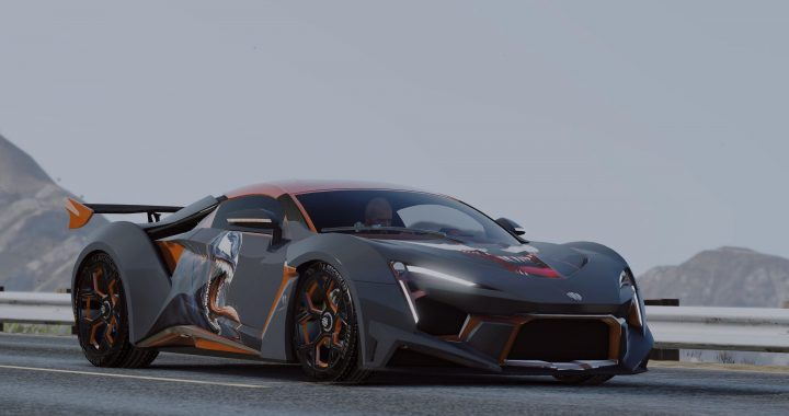 Mod Car Fenyr SuperSport for GTA V