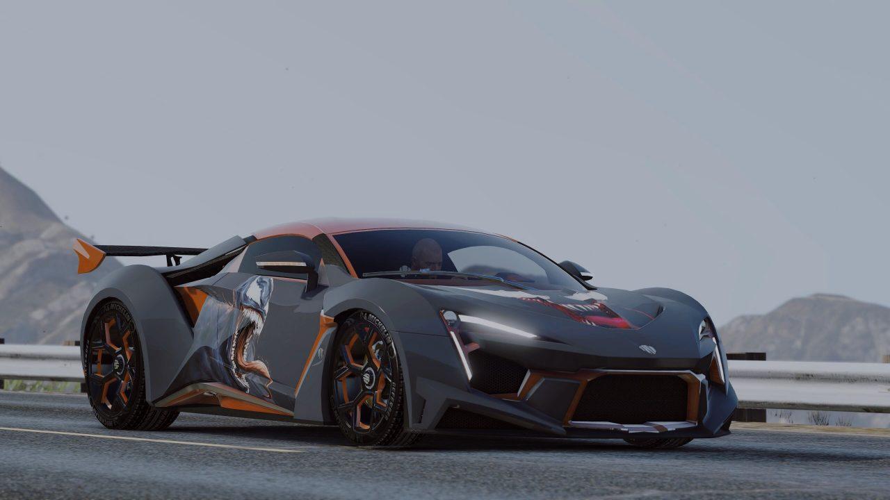 Mod Car Fenyr SuperSport for GTA V