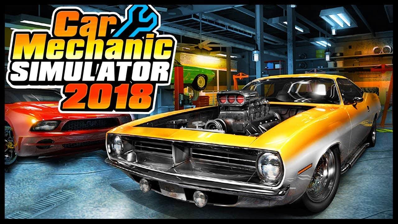 بازی Car Mechanic Simulator 2018 برای PC