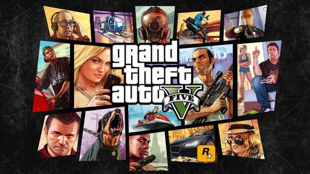 آپدیت های بازی Grand Theft Auto V