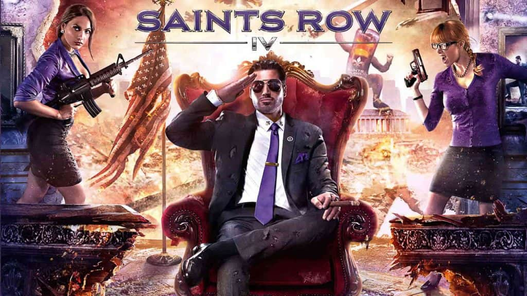 ترینر بازی Saints Row IV