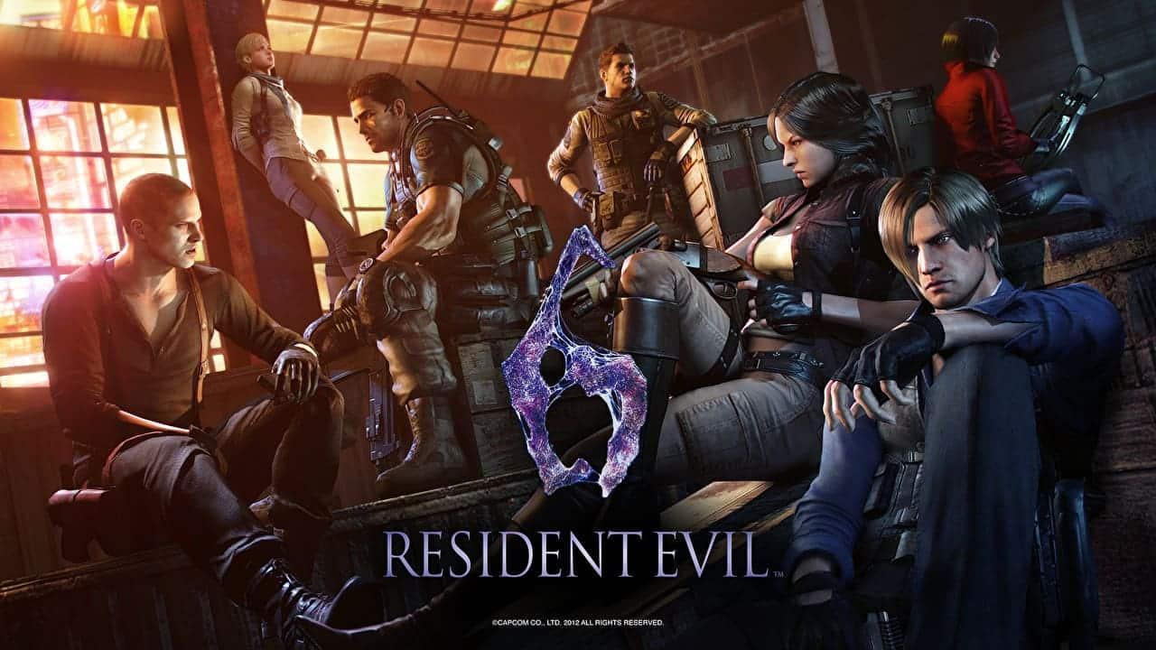 ترینر بازی Resident Evil 6