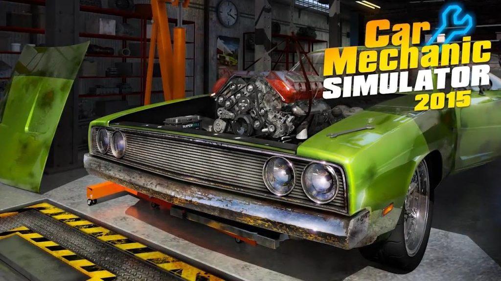 ترینر بازی Car Mechanic Simulator 2015