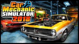 ترینر بازی Car Mechanic Simulator 2018