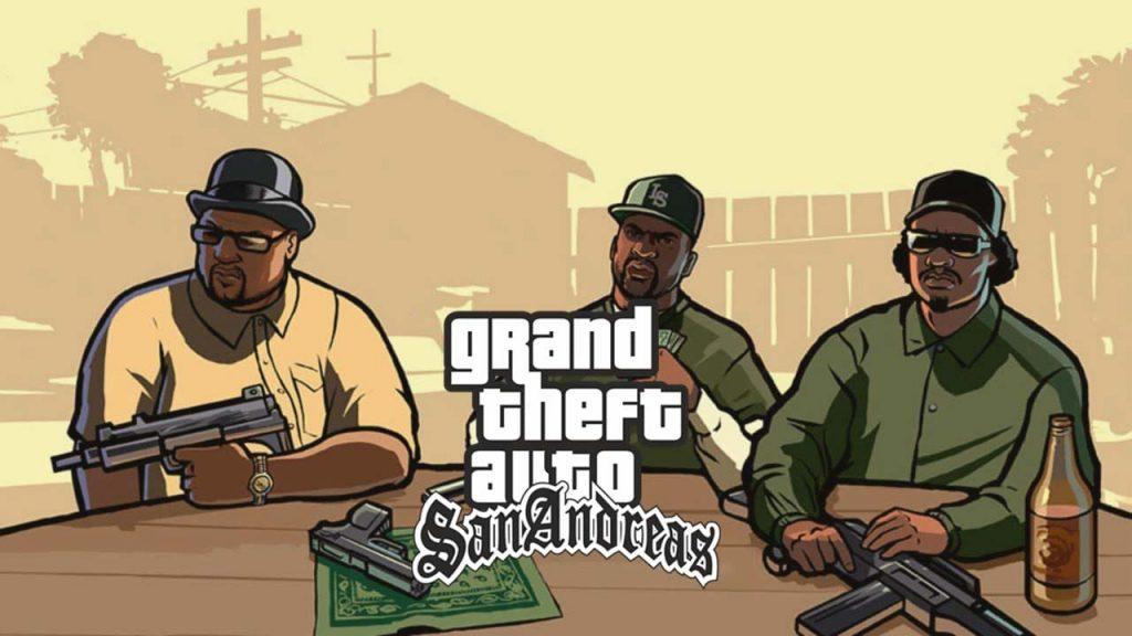 ترینر بازی GTA San Andreas