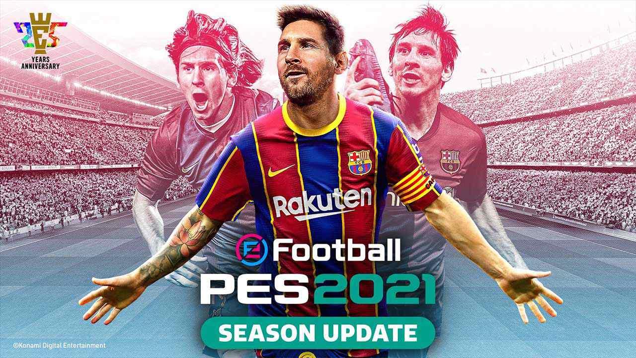 ترینر بازی eFootball PES 2021