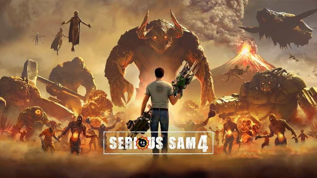 ترینر بازی Serious Sam 4