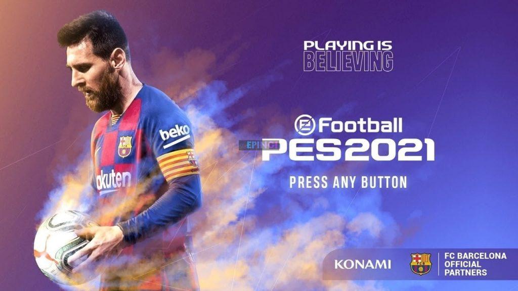 کرک بازی eFootball PES 2021