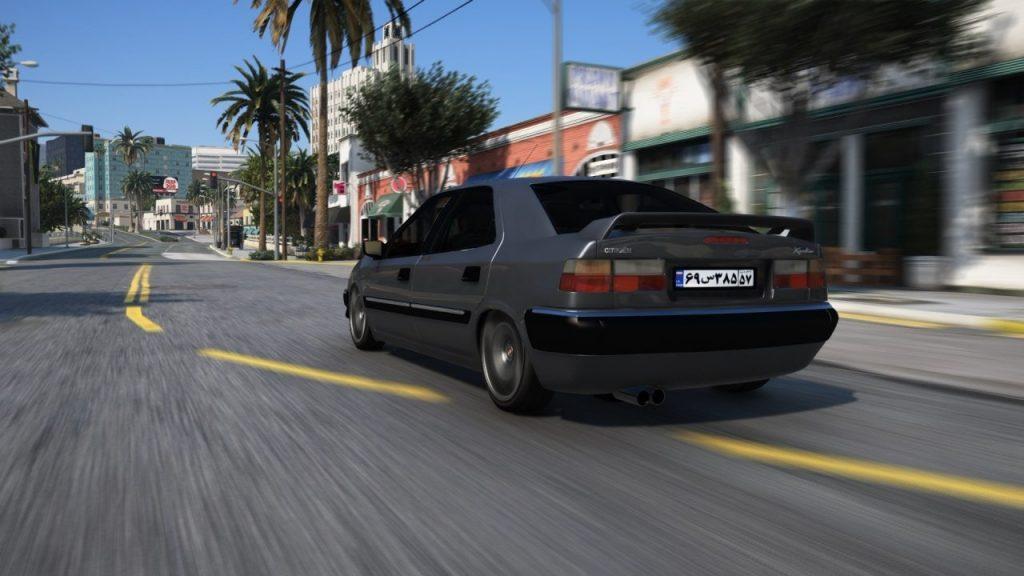 خودرو زانتیا برای GTA V