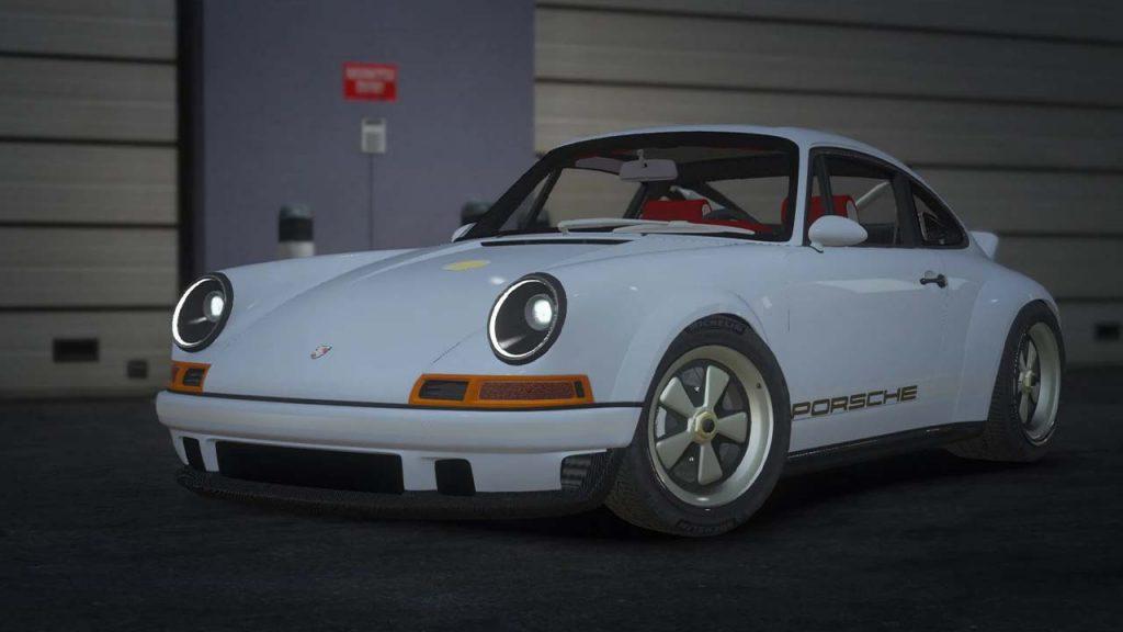 خودرو Porsche 911 Singer DLS برای GTA V