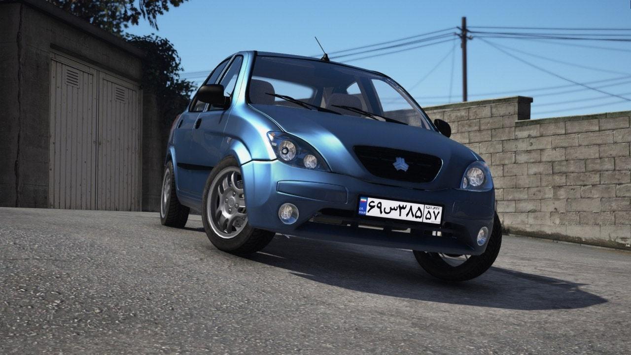 خودرو تیبا 2 برای GTA V