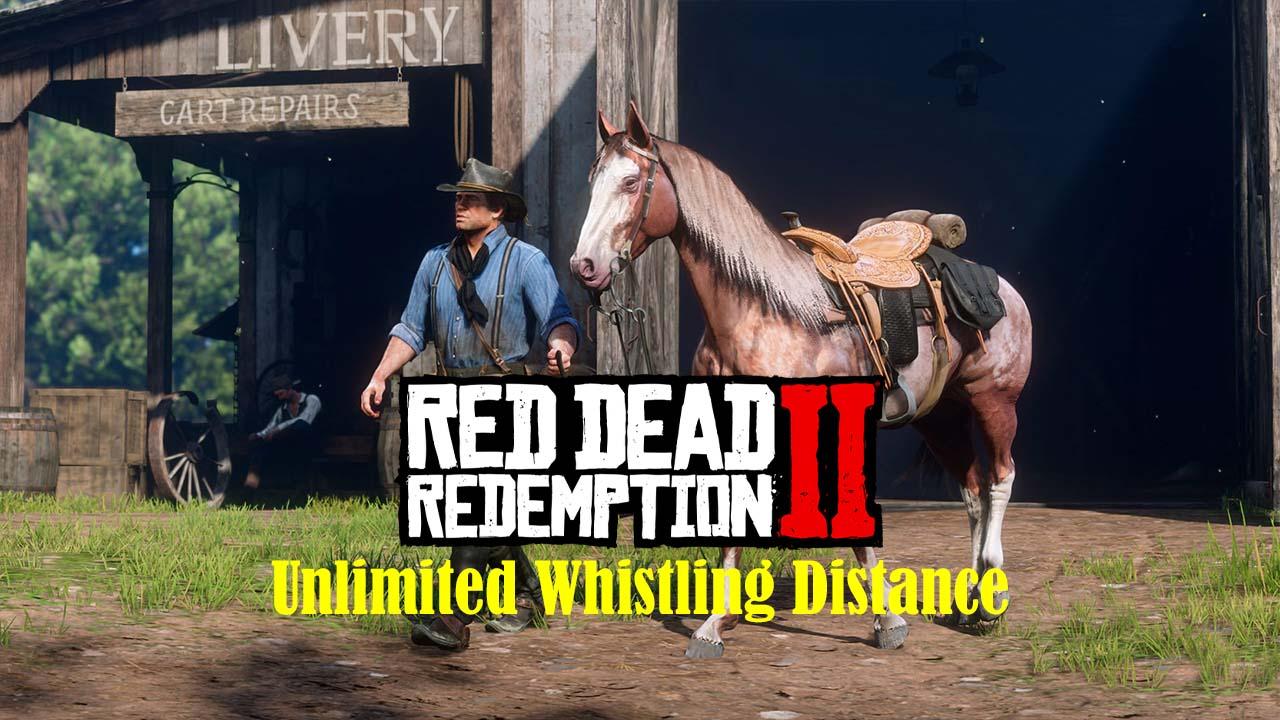 مد فاصله سوت نامحدود اسب برای Red Dead Redemption 2