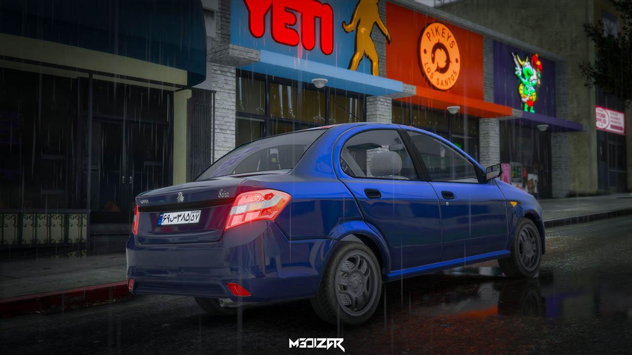 خودرو ساینا برای GTA V