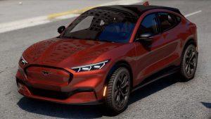خودرو 2021 Ford Mustang Mach E برای GTA V