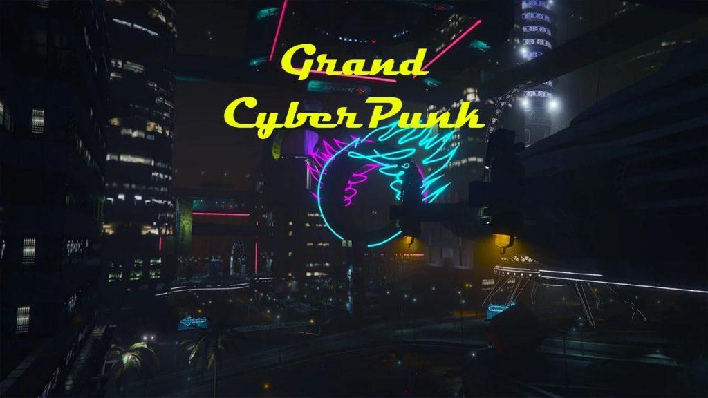 مپ Cyberpunk برای GTA V