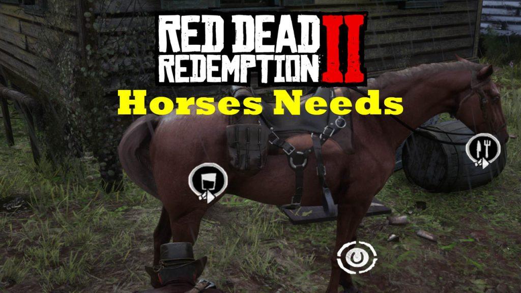 مد Horses Needs برای Red Dead Redemption 2