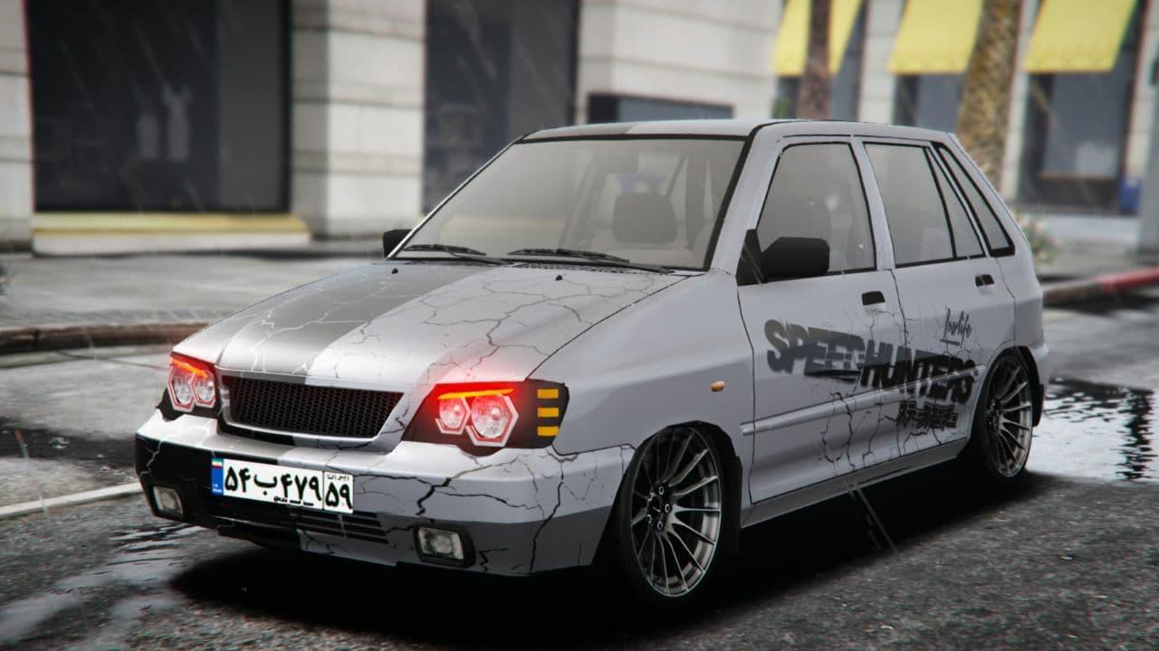 خودرو پراید 111 اسپرت برای GTA V