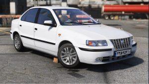 خودرو سمند EF7 برای GTA V