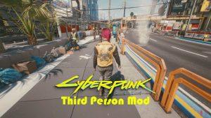 مد سوم شخص بازی Cyberpunk 2077