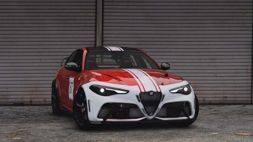 خودرو Alfa Romeo Giulia GTAm 2021 برای GTA V