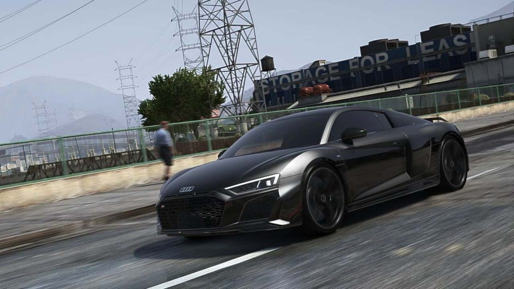 خودرو Audi R8 2020 برای GTA V