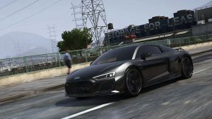خودرو Audi R8 2020 برای FiveM