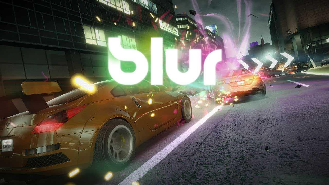 ترینر بازی Blur