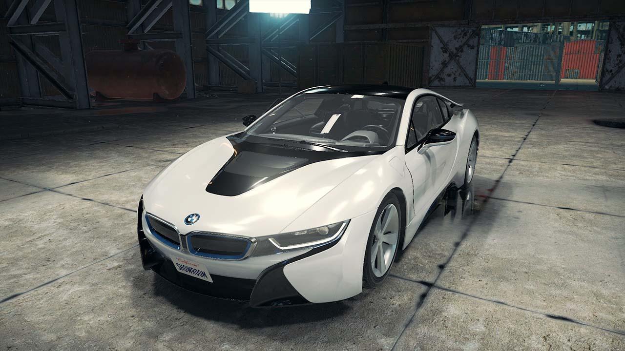 خودرو BMW i8 برای CMS 2018