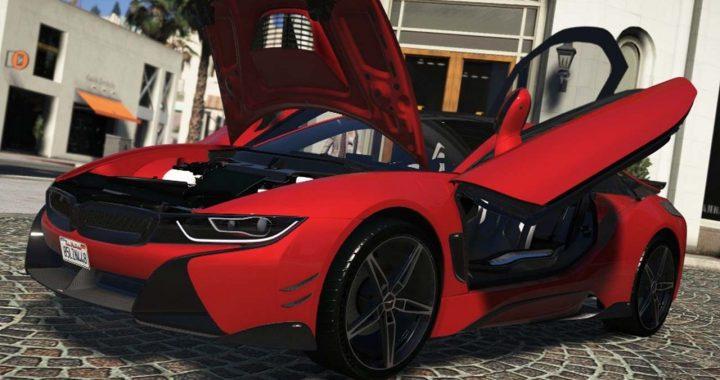 خودرو BMW i8 برای GTA V