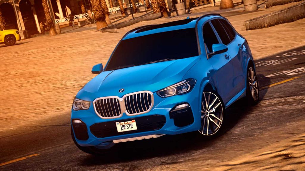 خودرو BMW X5 2019 برای GTA V