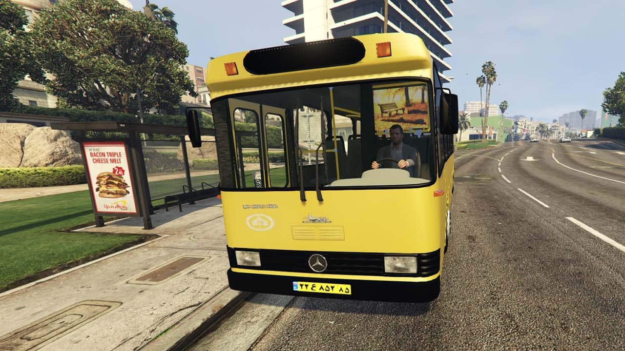 اتوبوس ایرانی برای GTA V