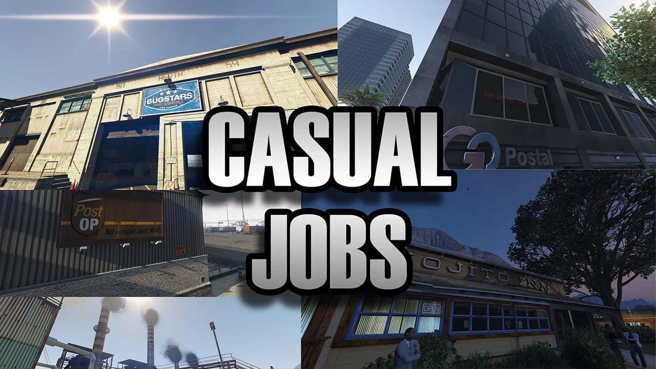 مد Casual Jobs برای GTA V
