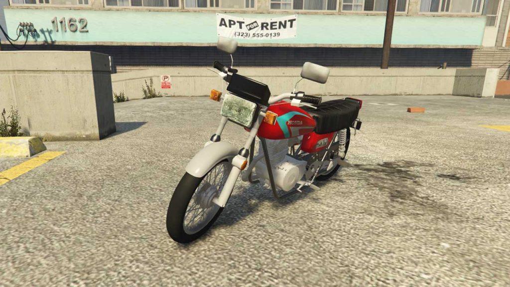 موتور سیکلت هوندا سی جی 125 برای GTA V