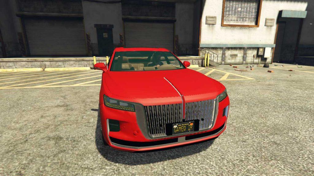 خودرو Hongqi H9 برای GTA V