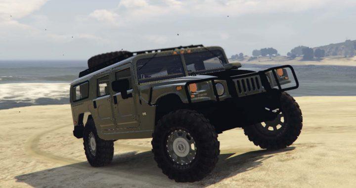 خودرو Hummer H1 برای GTA V