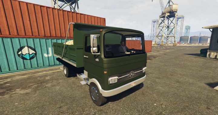 خاور بنز 608 برای GTA V