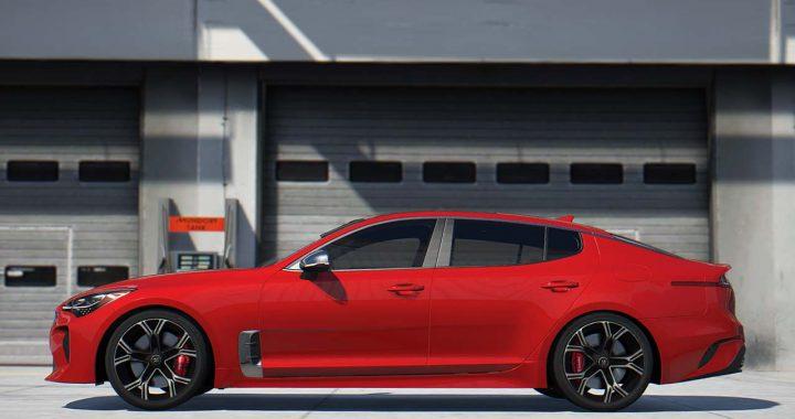 خودرو Kia Stinger GT برای GTA V