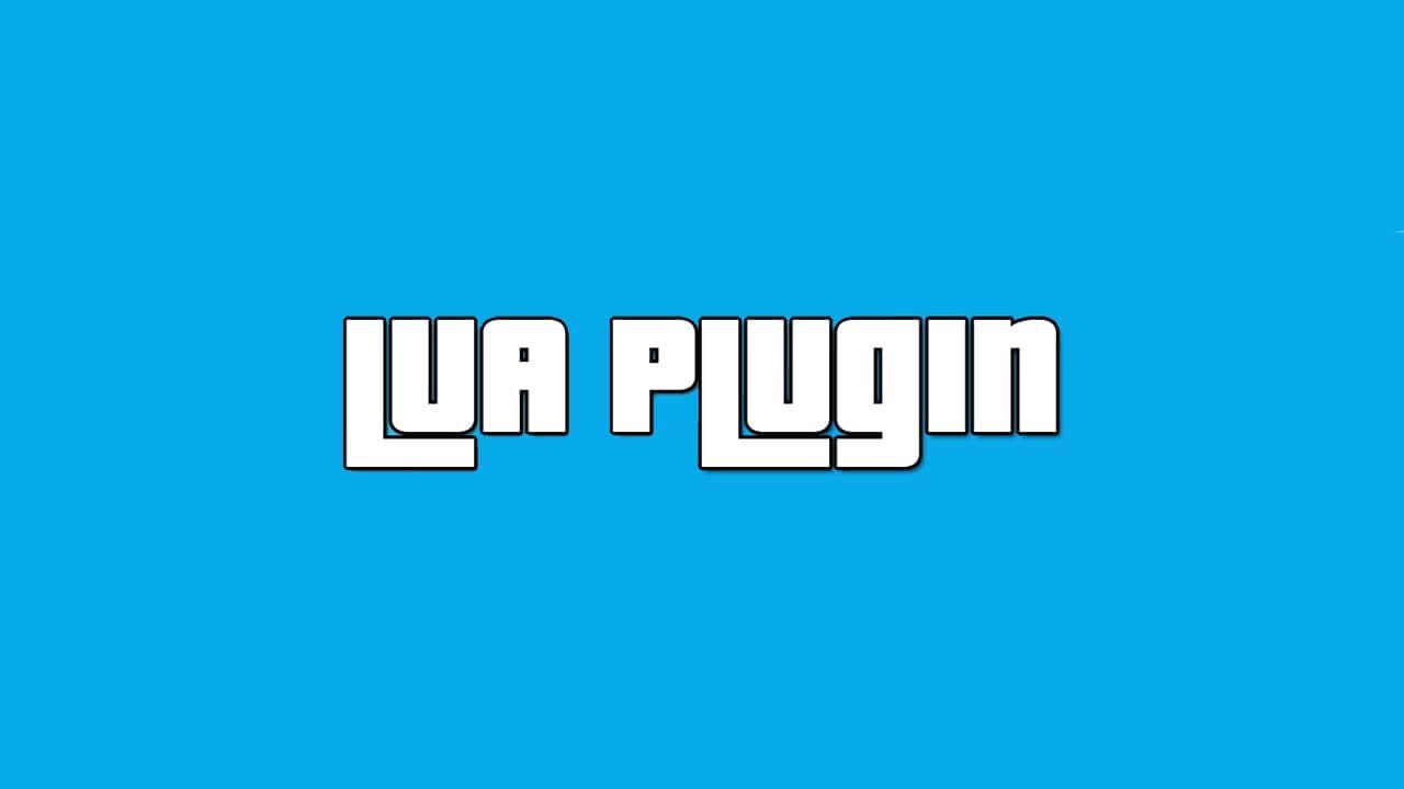 افزونه Lua Plugin برای GTA V