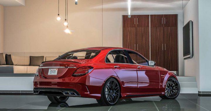 خودرو Mercedes AMG C63 S 2017 برای GTA V