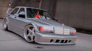 خودرو Mercedes Benz 190E برای GTA V
