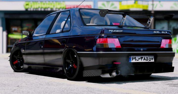 خودرو Peugeot 405 GLX برای GTA V