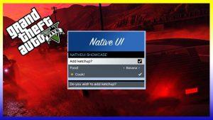 افزونه NativeUI برای GTA V