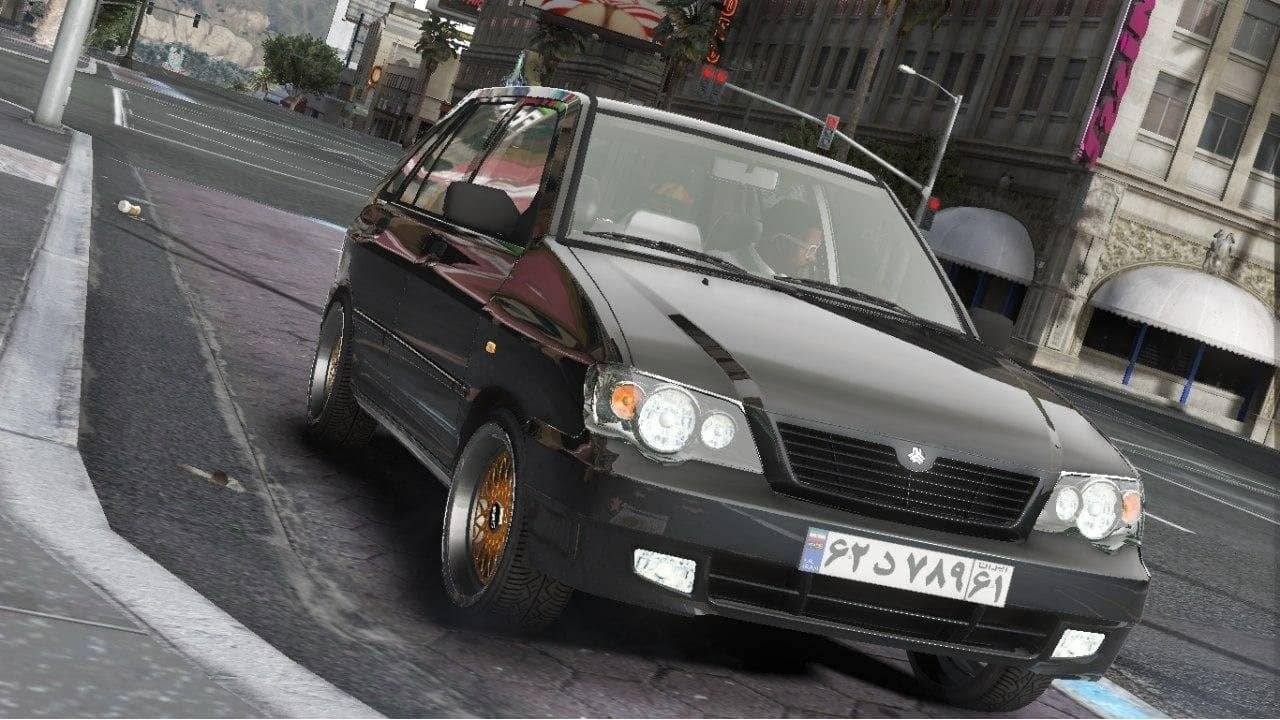 خودرو پراید 111 برای GTA V